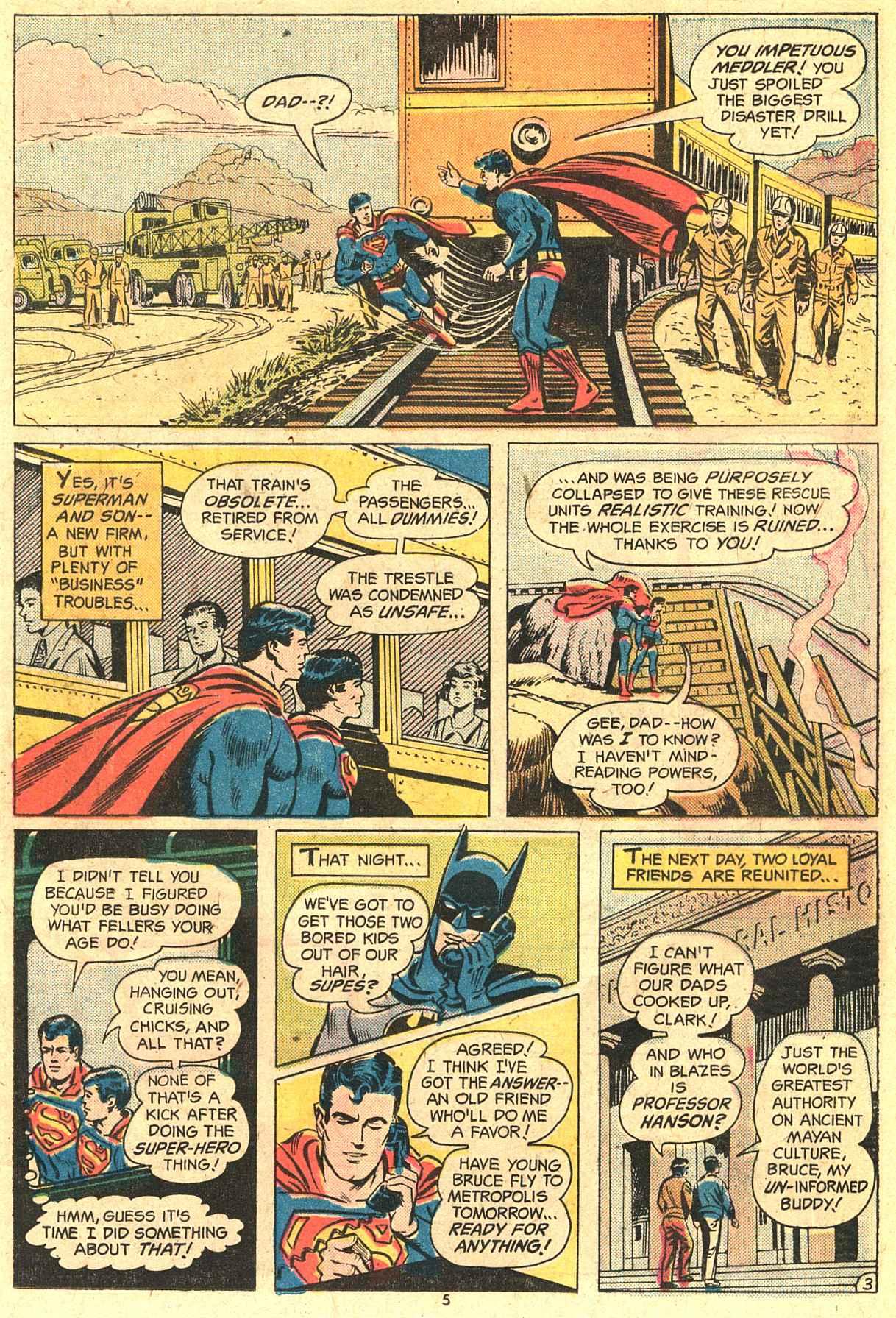 Read online World's Finest Comics comic -  Issue #230 - 5