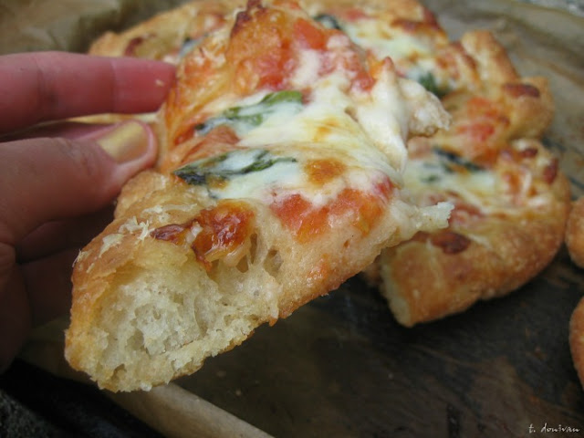 Pizza Montanara Strarita (or Chunk's New Favorite) by Route to Delicious, inspired by The Goonies for Food 'n Flix