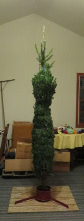 bundled Christmas Tree