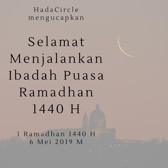 1 Ramadhan 1440 H