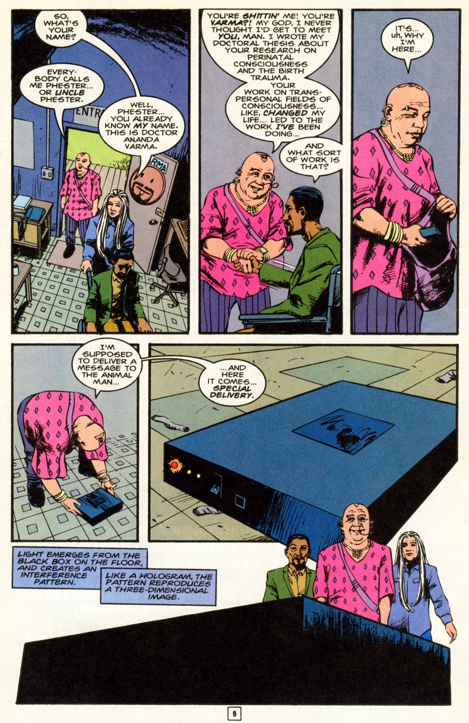 Read online Animal Man (1988) comic -  Issue #85 - 9