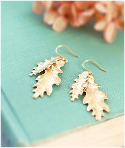 Shop Oak Leaf Earrings