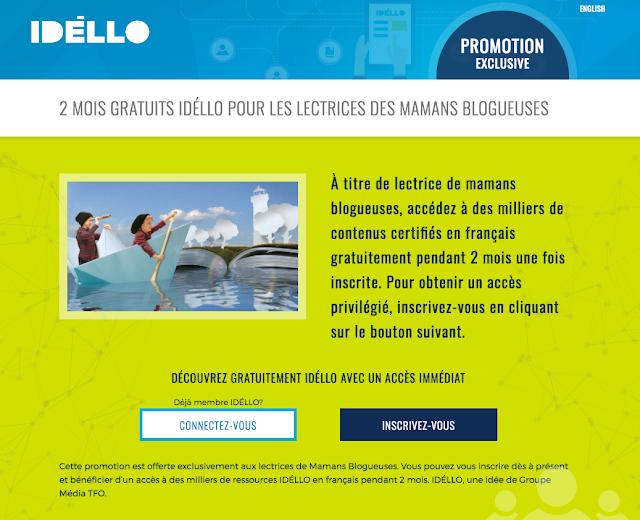 IDÉLLO: code promo GRATUIT!!!! #collabo