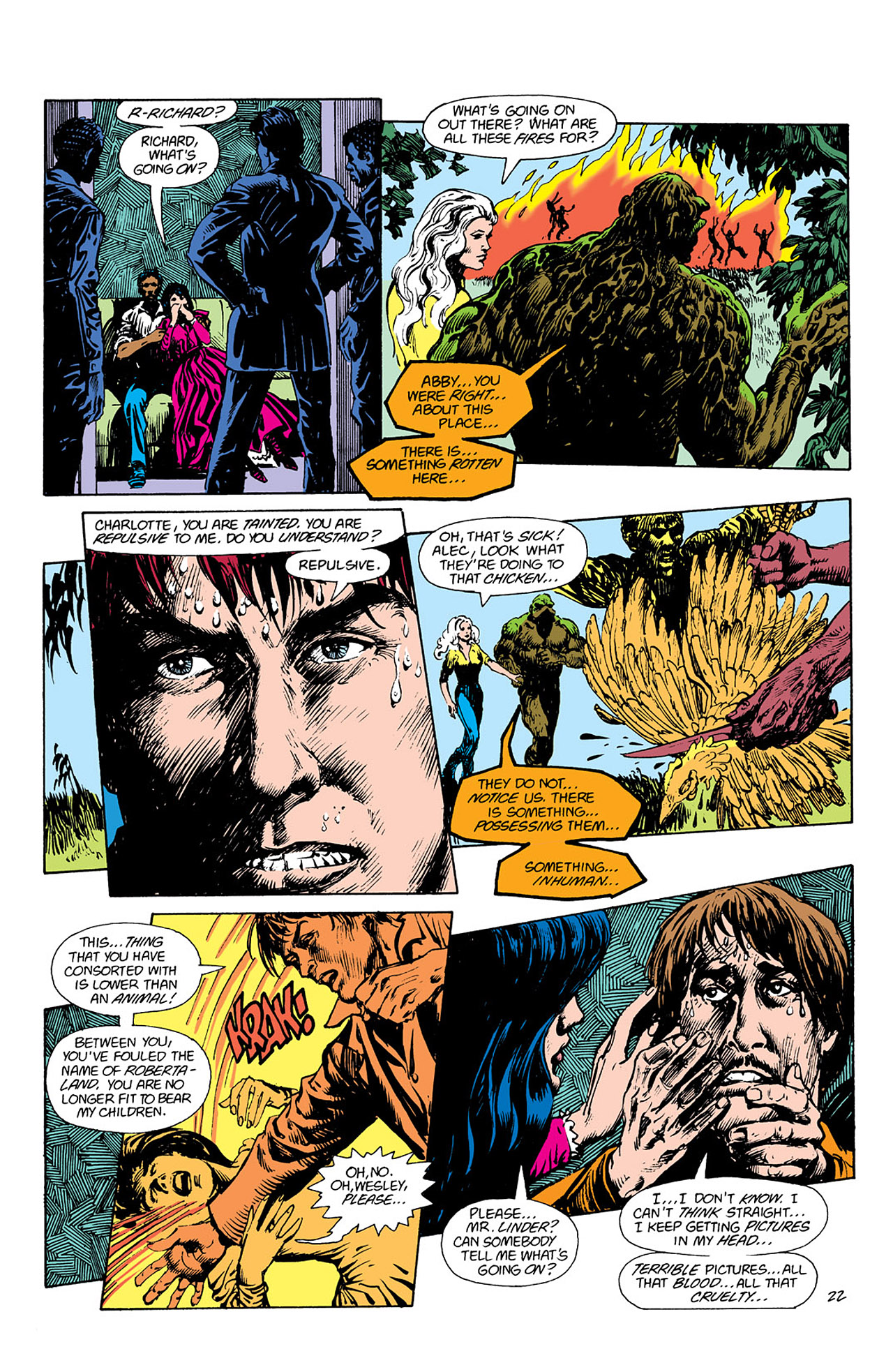 Swamp Thing (1982) Issue #41 #49 - English 22