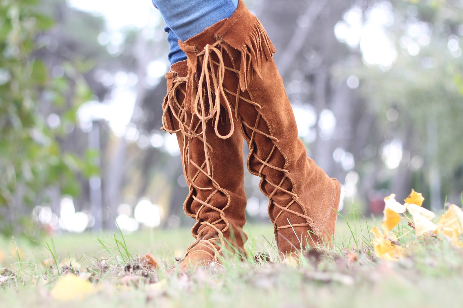 fashion blogger girl pescara italy indie style romwe jacket braccialini bag minnetonka boots denim vintage bijou brigitte bijoux il centimetro