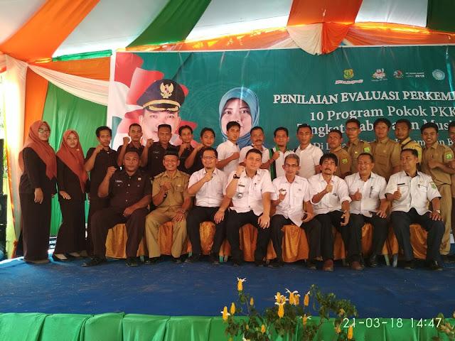 DPMD Muba Evaluasi dan Lakukan Penilaian Desa Se - Kabupaten Muba