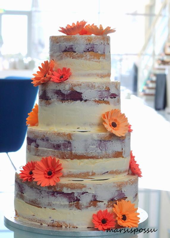 Semi naked cake gerberoilla