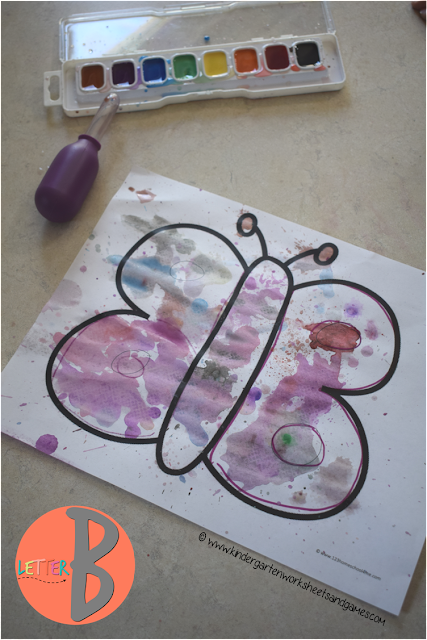B is for Butterfly week filled with activities for 5 days: butterfly crafts, butterfly activities, counting, science, colors, shapes, and so much more as part of this letter of the week curriculum - FREE! Perfect for toddler, preschool, prek, and kindergarten age kids or summer learning.