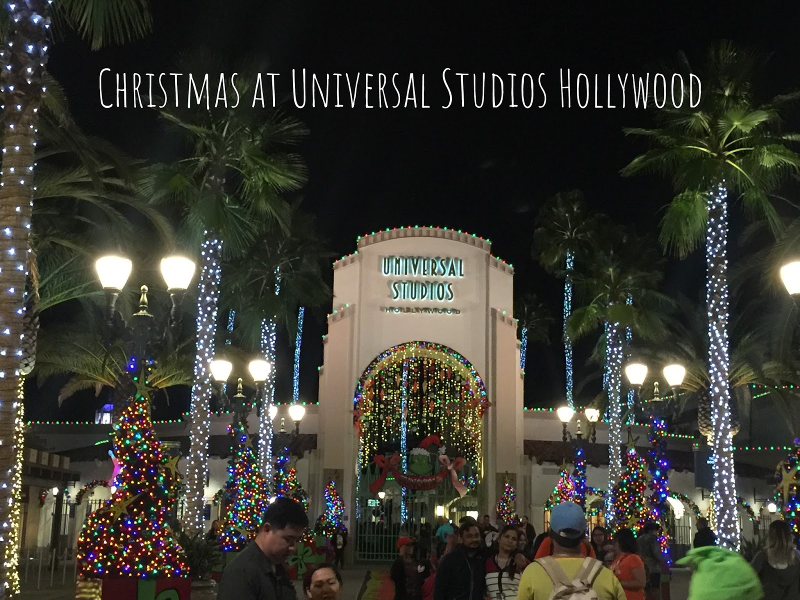 christmas at universal studios hollywood its the most wonderful time of the year and we are enjoying every second of it we got to see josh and erin - When Does Universal Studios Hollywood Decorate For Christmas
