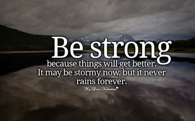 be strong, monday quote, think positive, positive quotes, be positive, mutiara kata, kata-kata indah