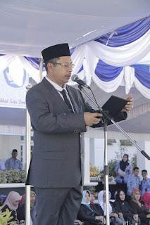 Peringatan Hardiknas, Walikota Jadi Inspektur Upacara