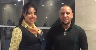 Roberto Carlos arrives in Cairo to participate in Egypt is free from the C virus campaign