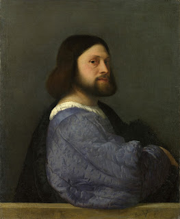 This painting by Titian, circa 1512, is accepted as likely to portray Ludovico Ariosto