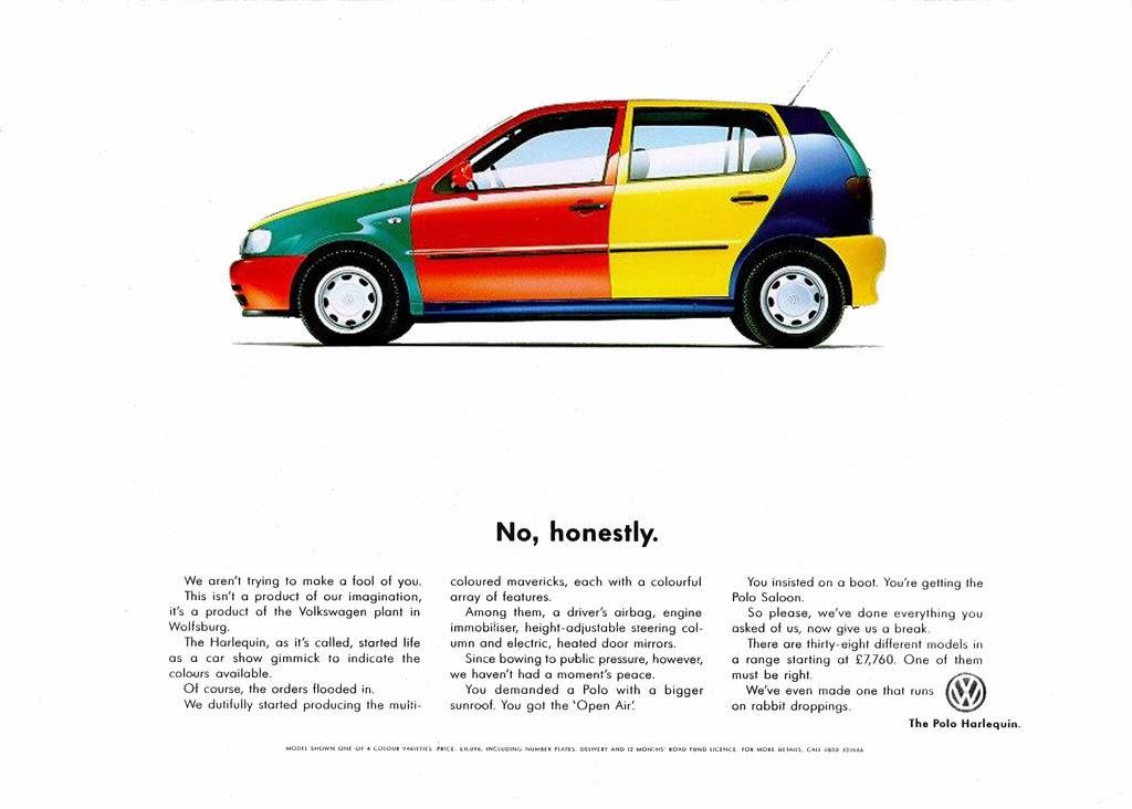 Wolf Cars Volkswagen Harlequin 1995 96