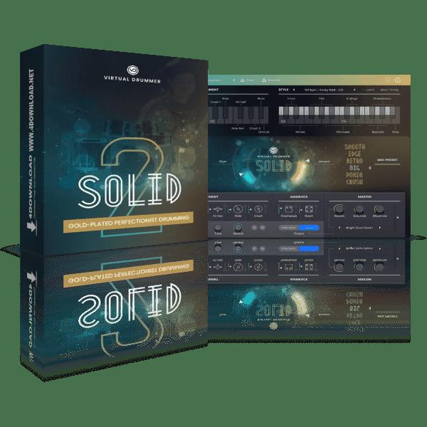 UJAM Virtual Drummer SOLID v2.0.1 Full version