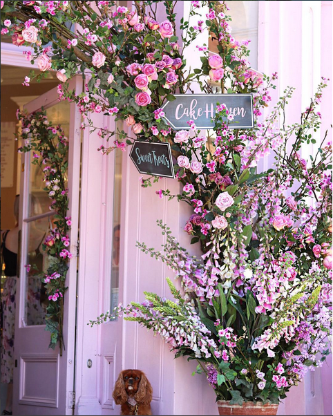 Chelsea Flower Show 2017 peggy porschene cake via belle vivir blog