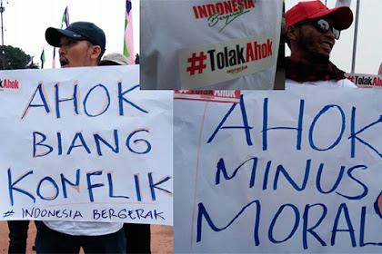 Biang Konflik dan Minus Etika, Ahok Dinilai Bukan Solusi, Tapi Petaka Bagi Jakarta!