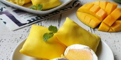 Frozen Mango Pancake Recipe