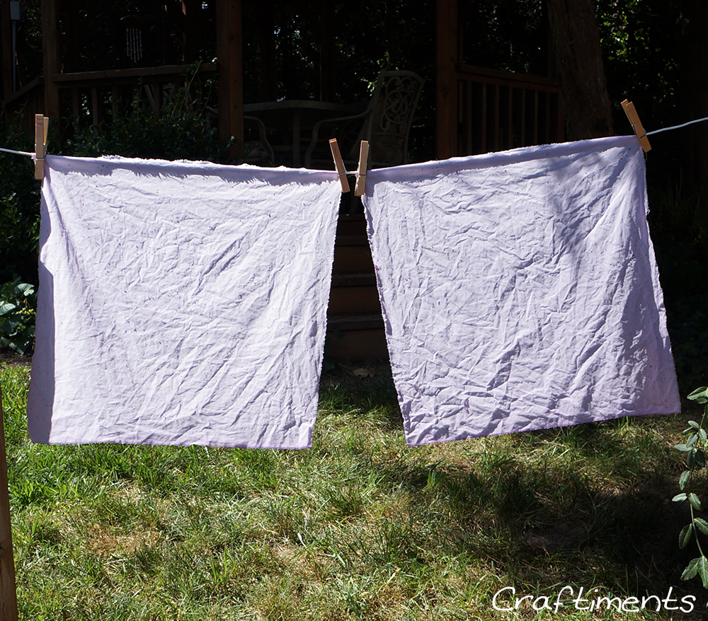 drying fabric
