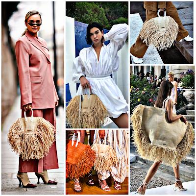 Bolso de rafia - tendencia moda 2019