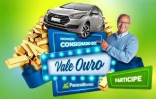 Cadastrar Promoção Paraná Banco 2018 Consignado Vale Ouro
