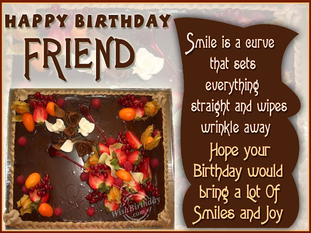 Birthday Wishes to a Friend