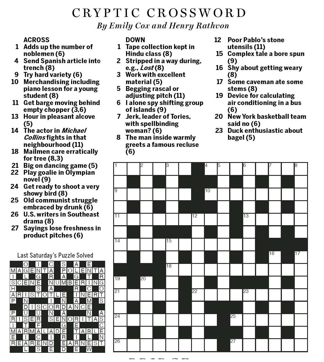 Greets in a way crossword clue gallery greeting card examples greets in a way crossword clue image collections greeting card national post cryptic crossword forum saturday kristyandbryce Choice Image