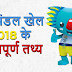 राष्ट्रमंडल खेल 2018 के महत्वपूर्ण तथ्य  - Commonwealth Games 2018 Important Facts in Hindi