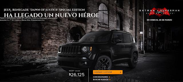 Jeep edición especial 2016