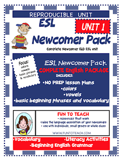 https://www.teacherspayteachers.com/Product/ESL-NEWCOMER-PACK-Unit-1-Freebie-3552579
