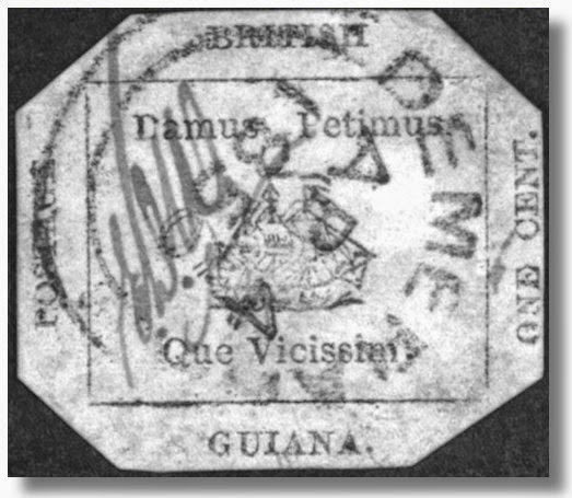 Tiny Home Designs: STAMPS AND COINS: World's Rarest Stamp British Guiana 1856