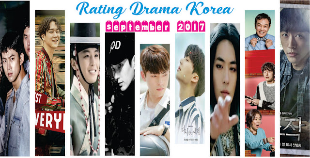 Rating Drama Korea Terbaru September 2017