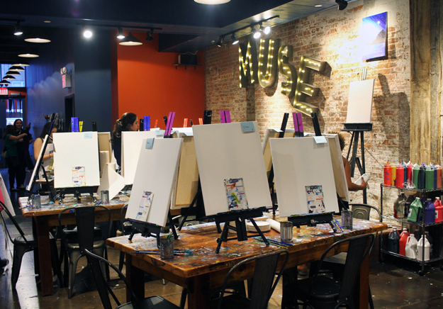 Muse Paintbar Tribeca, Muse Paintbar Review, Muse Tribeca