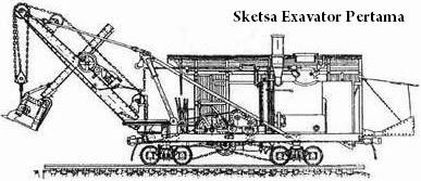 Sketsa Excavator Pertama
