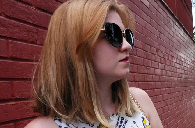 óculos de sol da zaful