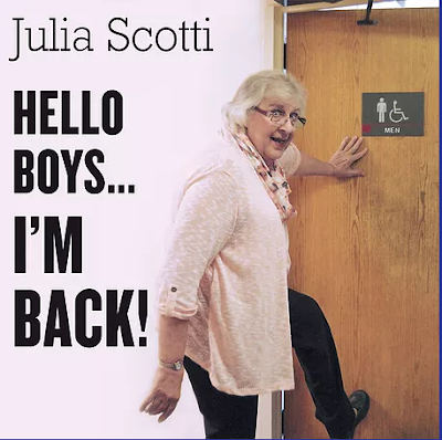 "Julia Scotti CD-""Hello Boy's I'm Back"""