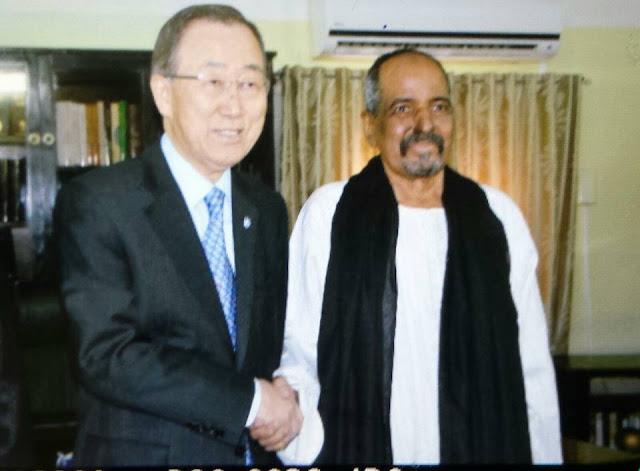 الرئيس الصحراوي يستقبل بان كي مون ووضعية مخطط التسوية الأممي والانتهاكات المغربية ابرز محاول اللقاء