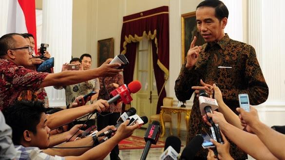 Jokowi soal Arahan 'Berantem': Ditonton Komplet, Jangan Sepotong
