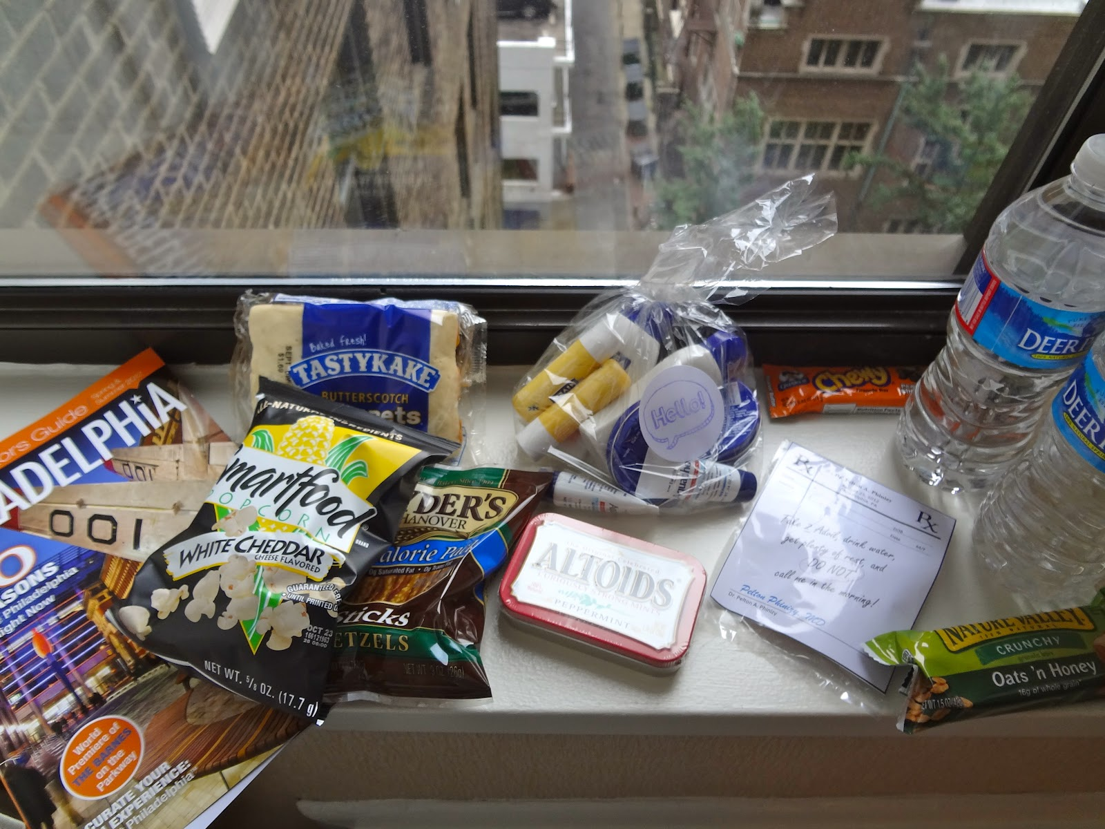 Building A Hotel Gift Bag