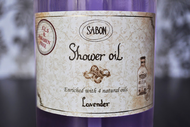 Stop And Bathe In The Lavender...Sabon Lavender Shower Oil