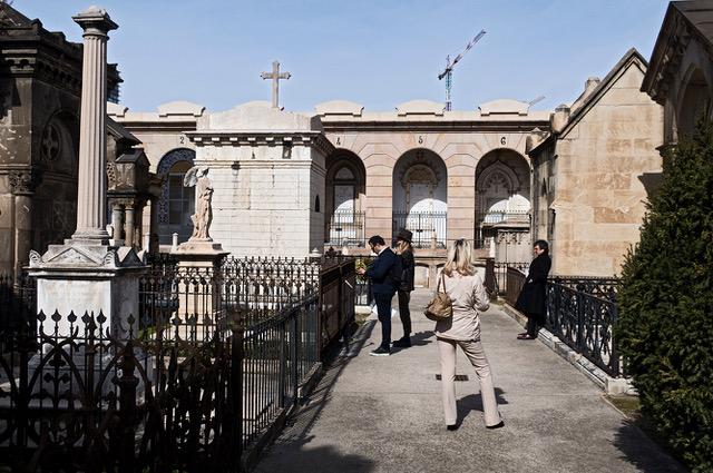 visita, cementerio Poble Nou