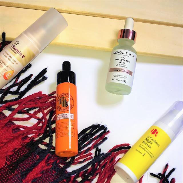 Drugstore Skincare Serums