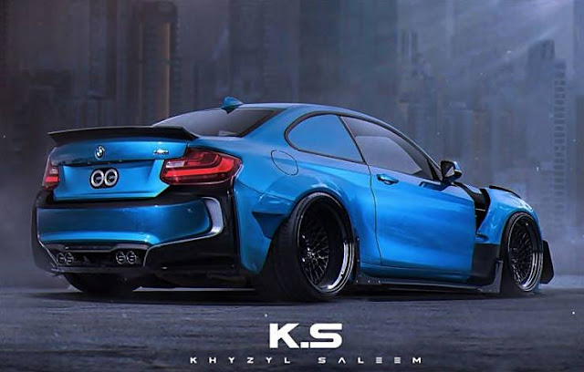 BMW M2 Coupe i8 Body Kit Virtual Tuning