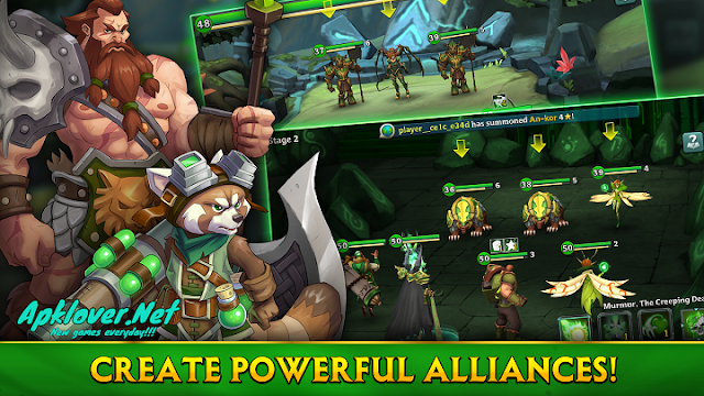 Alliance Heroes of the Spire MOD APK instant win