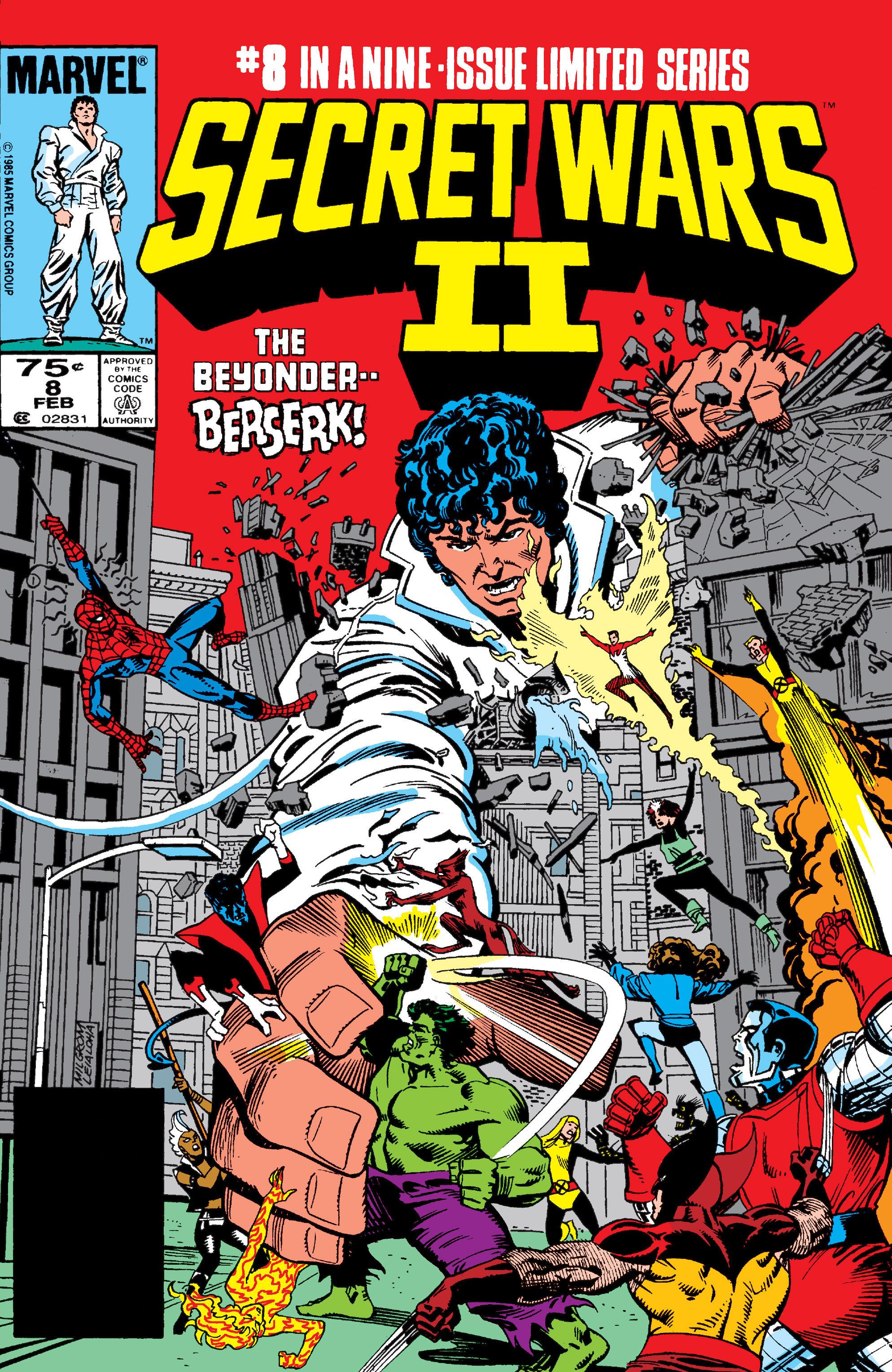 Read online Secret Wars II comic -  Issue #8 - 1