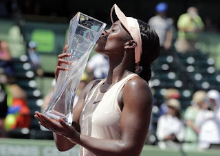 Stephens wins Miami Open title