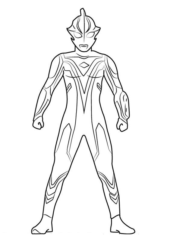 Tranh tô màu siêu nhân điện quang