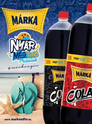 MÁRKA Cola és Cola Zéró Nyereményjáték