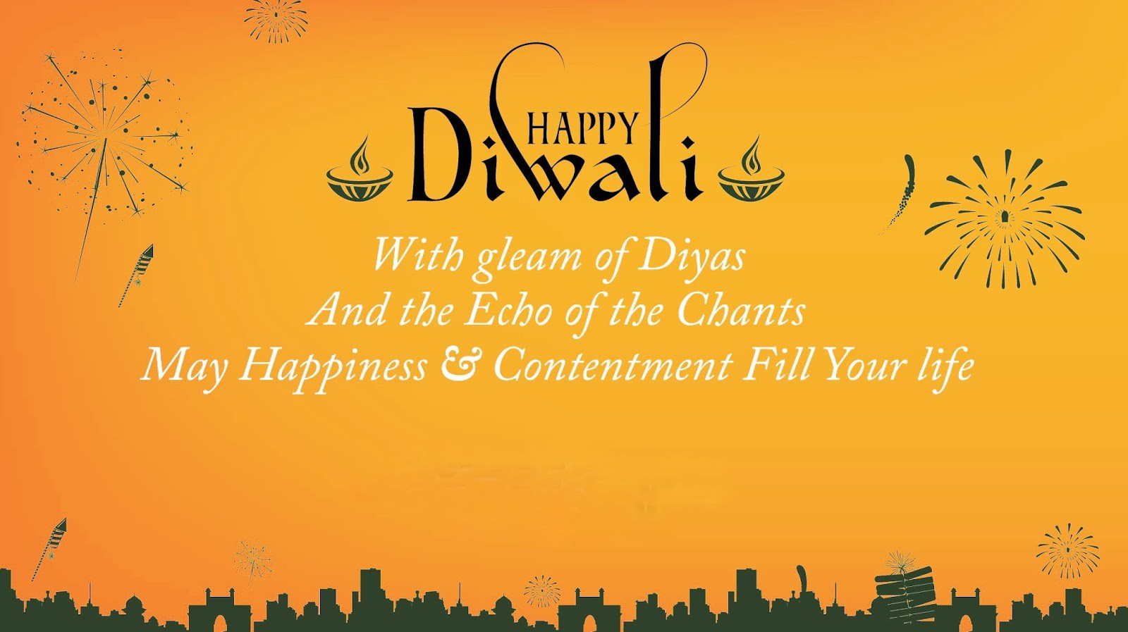 Happy Diwali Greetings in English