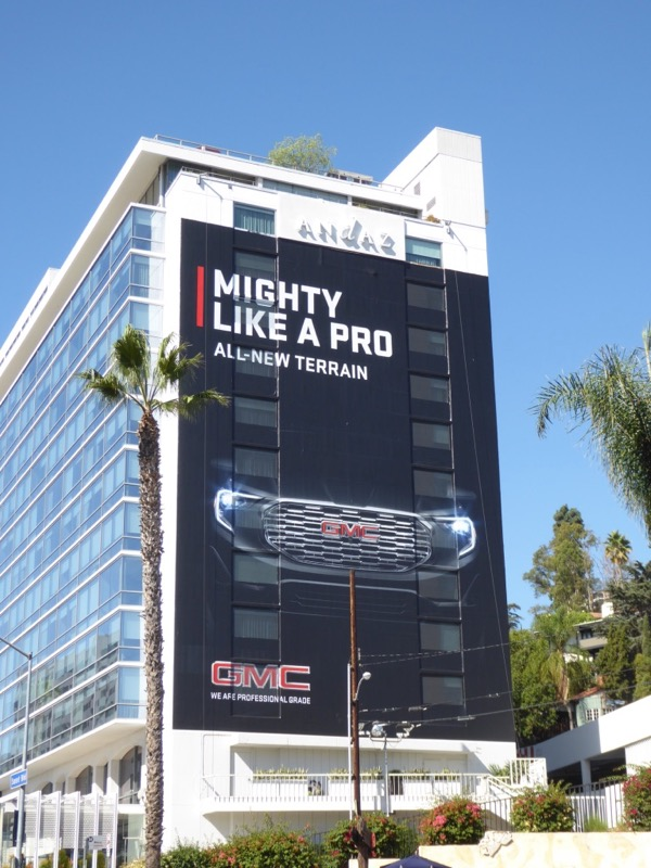 Mighty like pro GMC terrain billboard
